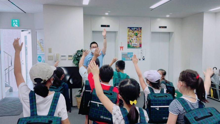 【2年生 授業前風景】